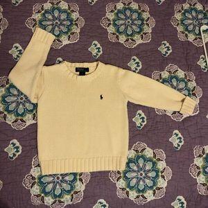Polo by Ralph Lauren, Beige Sweater, Size 5